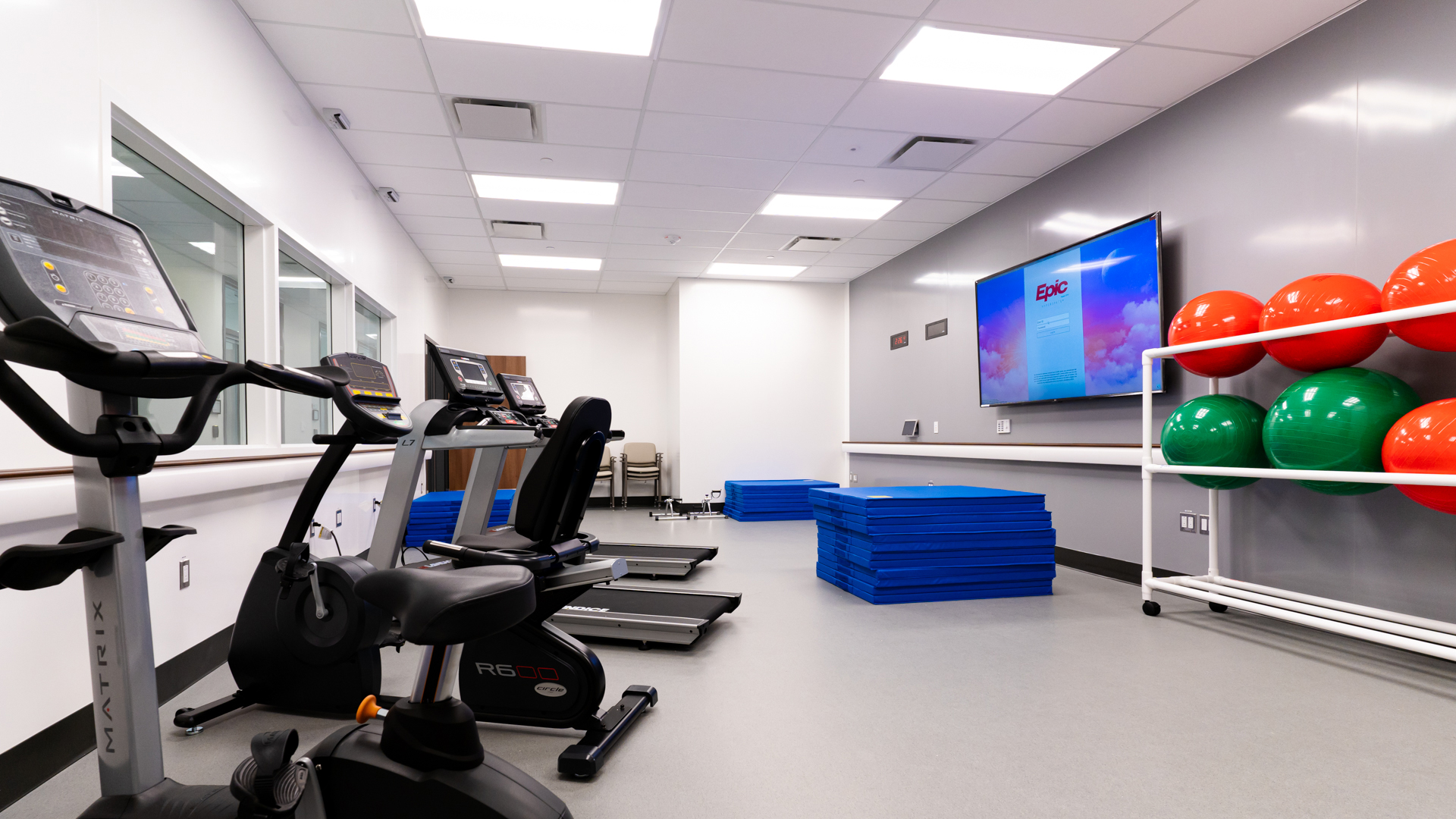 Exercise Room Aftercare Clinic Mental Health