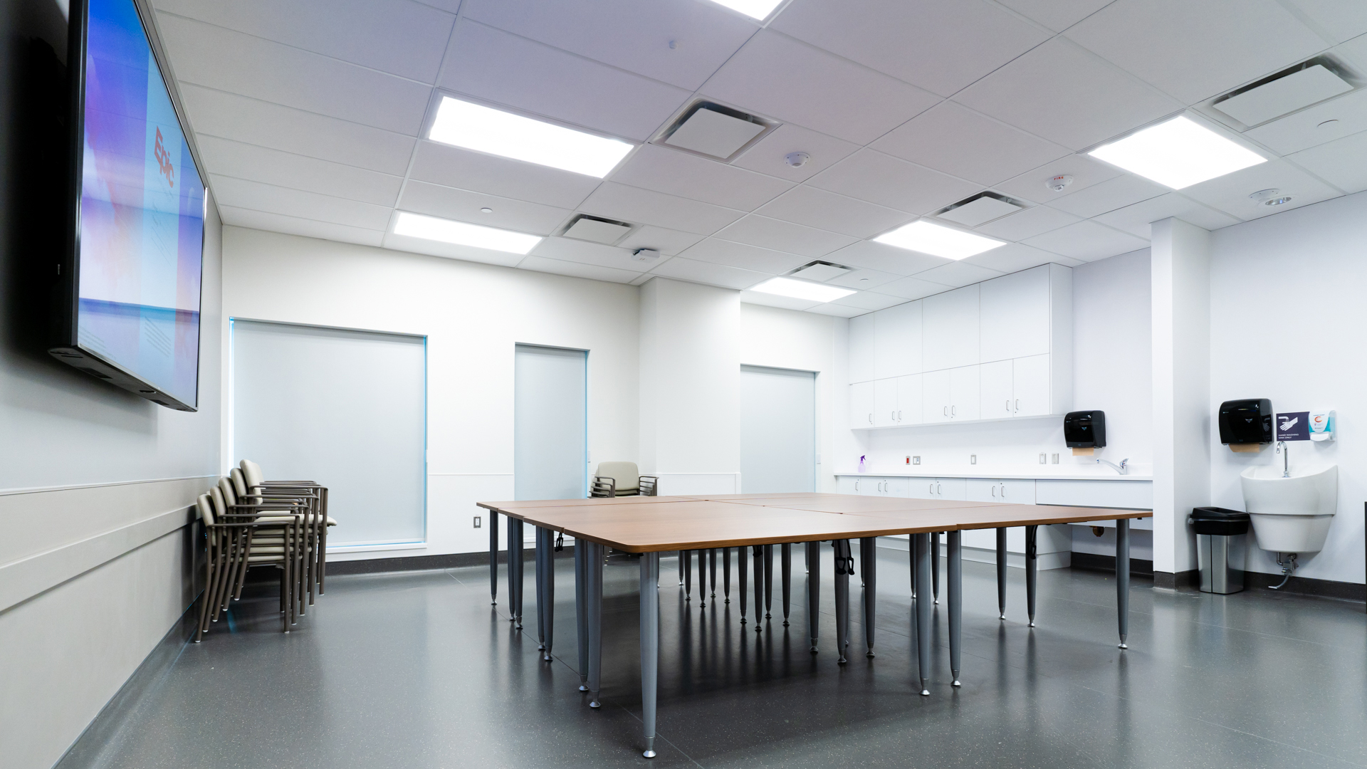Group Room Aftercare Clinic Mental Health Program