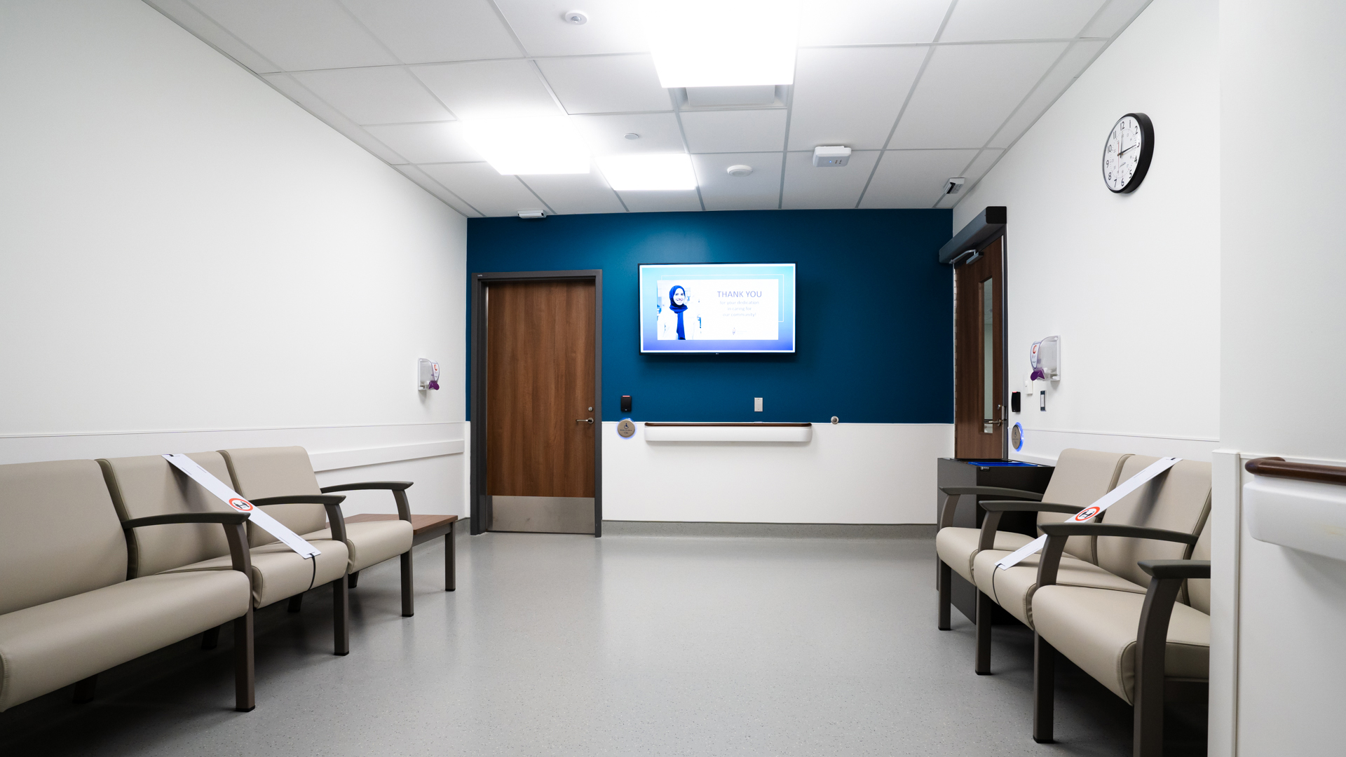 Outer Waiting Area - Radiology & Fluoroscopy