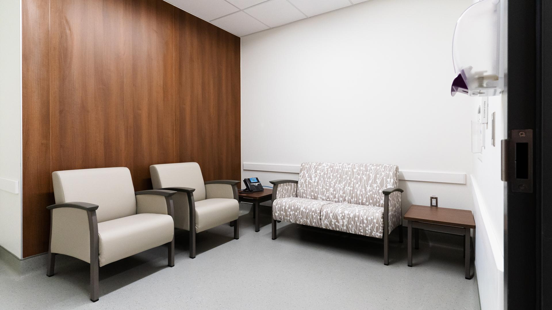 Family Quite Room - ER Acute Care