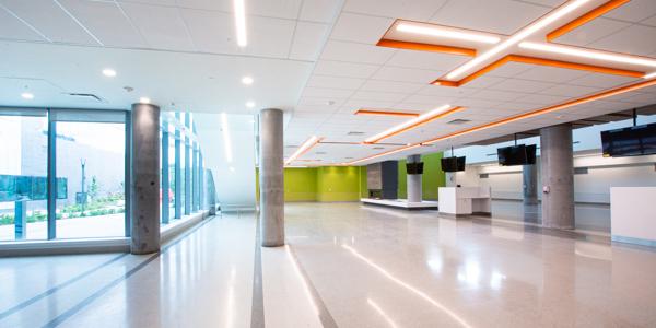 Atrium on level 0
