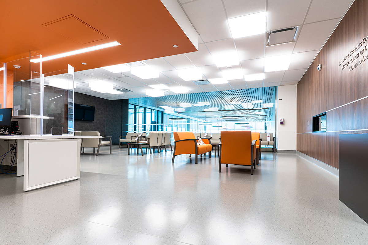 Visitor Lounge and waiting Area in Critical Care