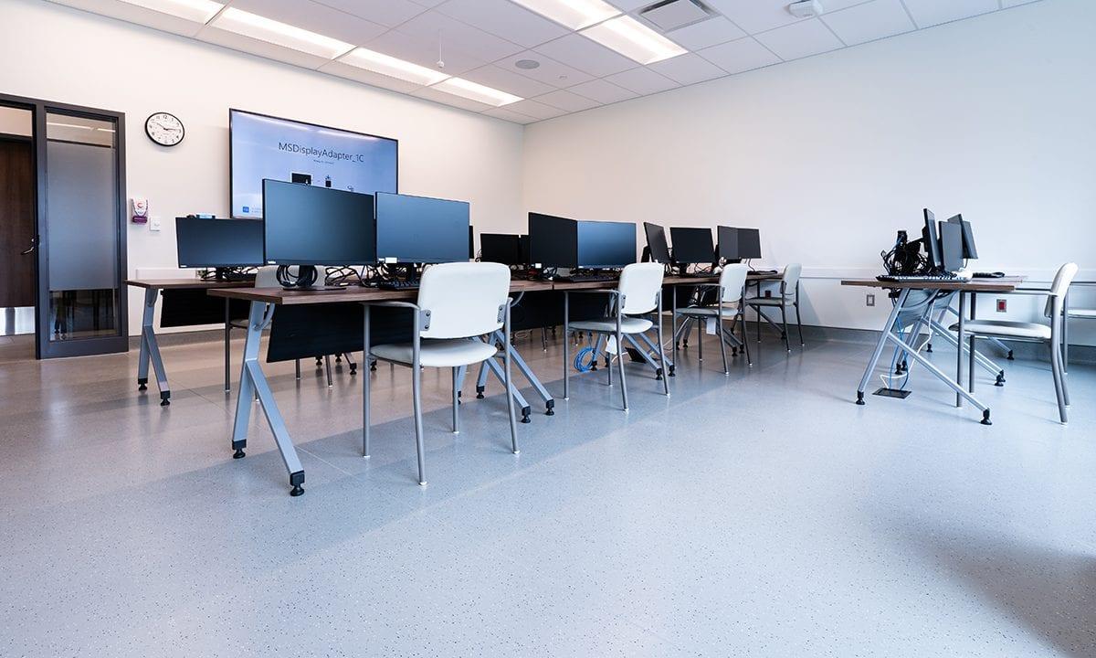 ii. Training Room, Information & Communication room