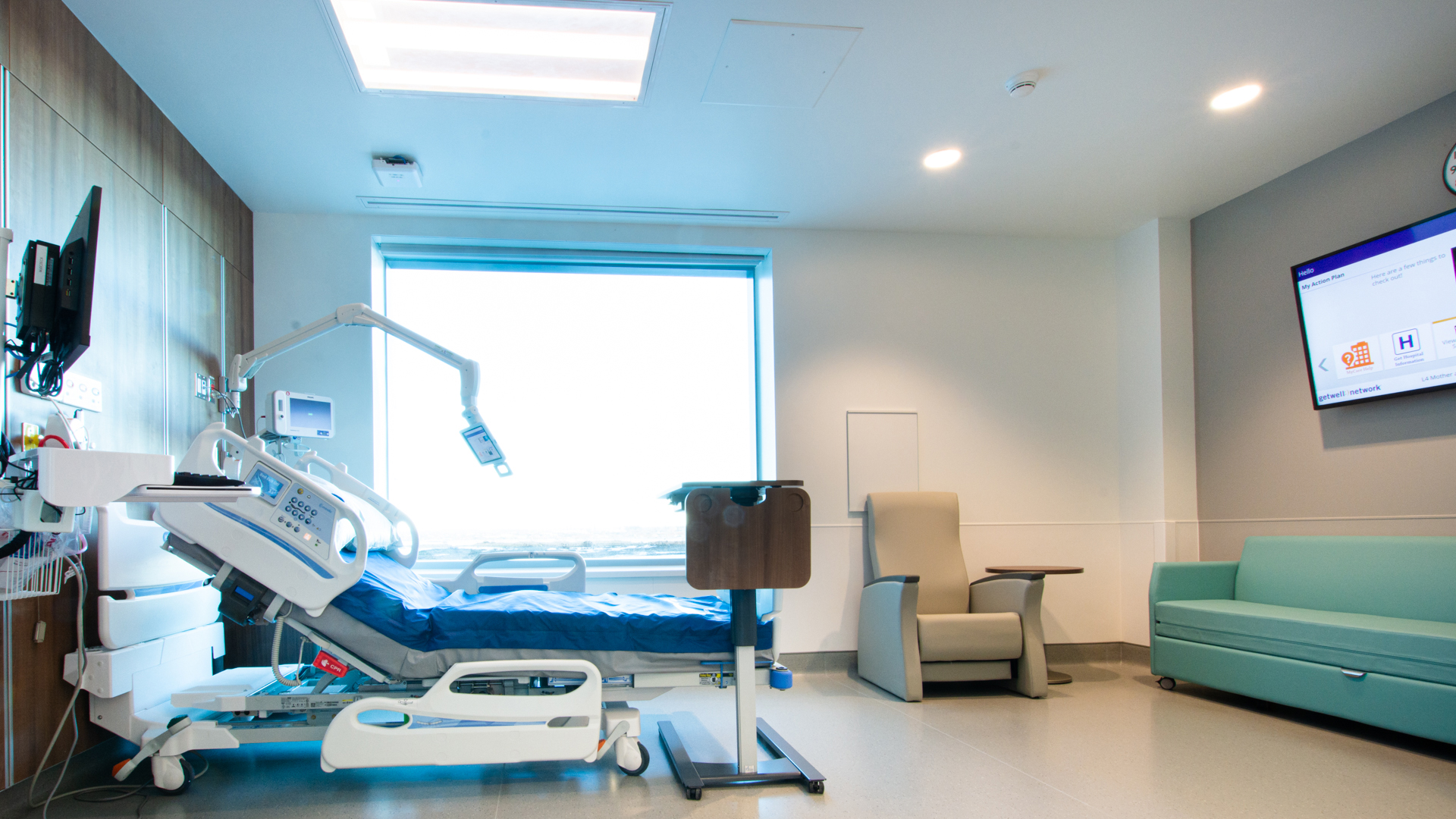 Inpatient Airborne Room Pod E AP