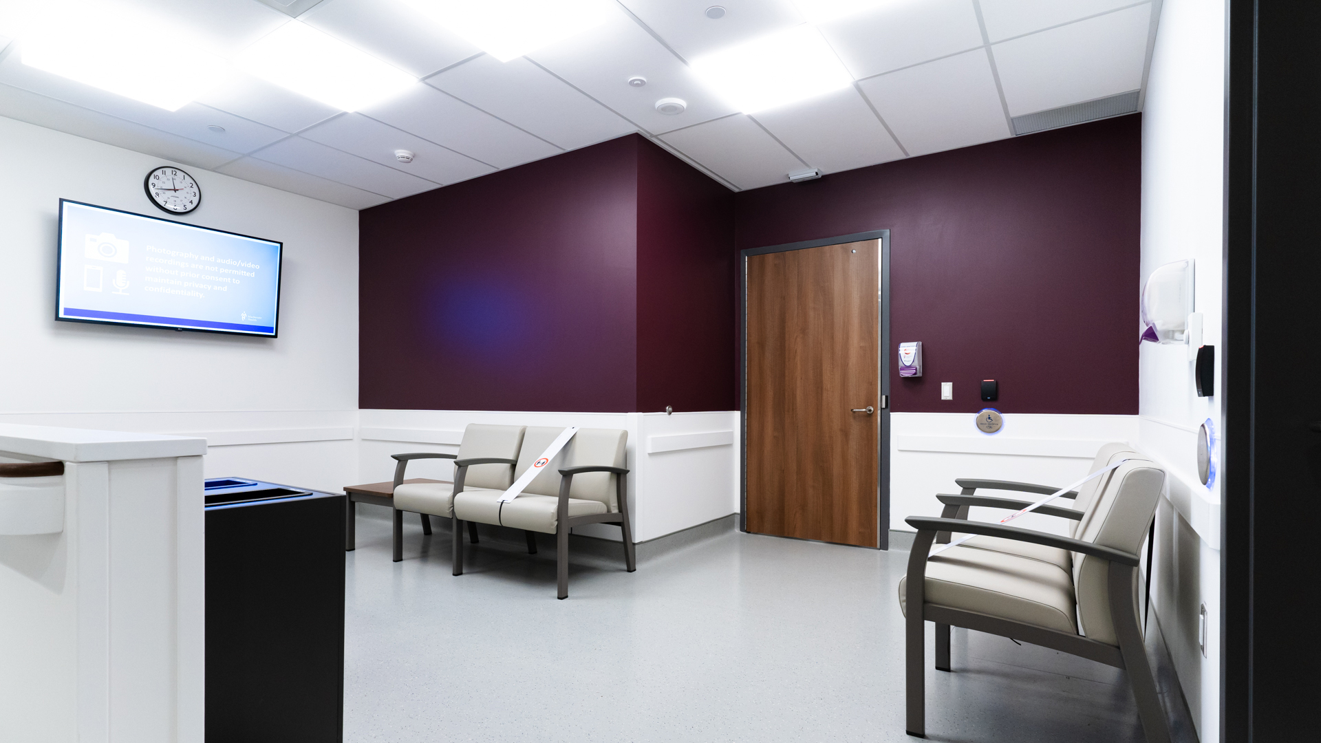 Outer Waiting Area - Nuclear Medicine