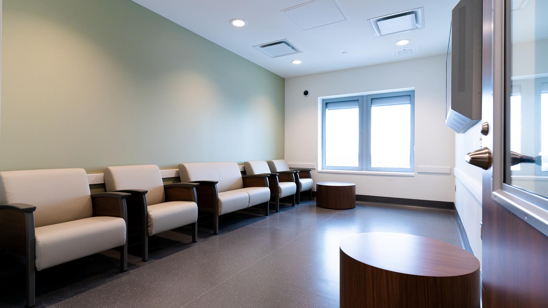 Patient & Visitor Room, Inpatient Mental Health Program